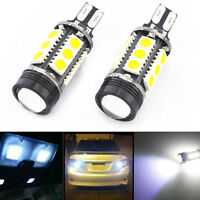 7W HID White 921 T15 Backup Reverse White LED Lights and Projector Lens Bulbs CN