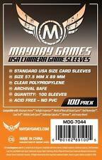 FUNDAS CARTAS MAYDAY GAMES CARD SLEEVES USA CHIMERA 57.5 X 89 (100)