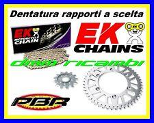 Kit Trasmissione Racing 415 APRILIA RS 125 00>01 corona catena PBR EK 2000 2001