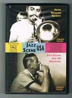 FRANK ROSOLINO QUARTET / STAN KENTON & HIS ORCHESTRA - 1962 - DVD TRÈS BON ÉTAT