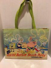 Sponge Bob Square Pants Bikini Bottom BEACH PARTY Large Beach Bag by Viacom