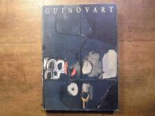 catalogue exposition art peintre catalan GUINOVART 1990