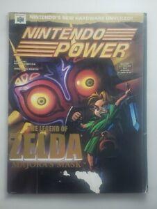 Nintendo Power #137 Zelda Majora's Mask- Batman Beyond Poster- No Pokemom Card