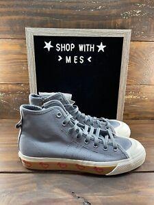 NEW Adidas Nizza Hi Human Made Grey Five - HM FY5187 Men's Canvas Shoes