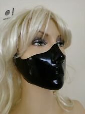 Latexmaske, nurse-Maske, Latex-Maske, rubber mask, neu, ungetragen,schwarz 0,7