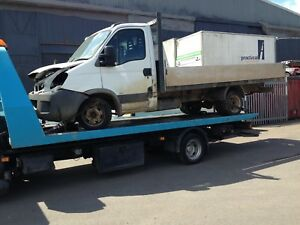 IVECO 35c/12 Chassis Cab 57 reg 2.3 Diesel for spares or Rpair