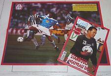 FOOTBALL OM PLUS N°183 1995 OLYMPIQUE MARSEILLE STAMBOULI MARCEL DIB GERMAIN