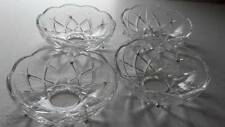 10 Clear Asfour Bobeche Lead Crystal Chandelier Cups Shabby Chic