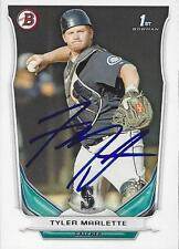 Tyler Marlette Seattle Mariners 2014 Bowman Signed Card