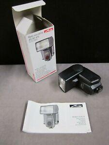 Nikon Camera Flash   Metz Mecablitz   40 AF 4N   with Manual and Retail Box