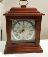 Vintage Strausbourg Manor Mantle Clock - Chimes on the hour