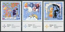 More details for germany 2021 mnh literature stamps grimm fairy tales frau holle 3v set b
