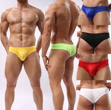 Hot Sports Men Mini Boxer Briefs Underwear Comfy Bulge Pouch Bikini Mini Boxers