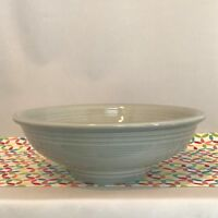 Fiestaware Pearl Gray Pedestal Bowl Fiesta Retired Grey 64 oz Serving Bowl