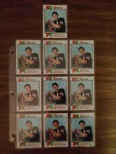 1973 Topps Ken Anderson Rookie Ex-Mint Lot Of 10