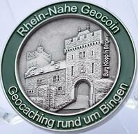 "2007 RHEIN-NAHE GEOCOIN - AS - A/T - NEW - 1.5"" x 3.5mm - TOC#156"