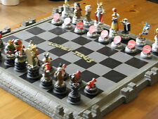 BELLE RARE COLLECTORS EDITION Looney Tunes Chess Board Set ~ Franklin Comme neuf 1991