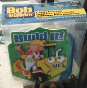 NEW BOB THE BUILDER T-SHIRT EMBLEMS BY HALLMARK
