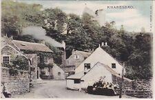 Old Cottages & Castle Above, KNARESBOROUGH, Yorkshire