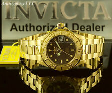 New Invicta Men PRO DIVER 24J AUTOMATIC NH35A Stainless Steel BROWN DIAL Watch!!