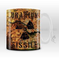 Uranio radiactivo Taza-Trébol-Nuclear-Científico Loco-el profesor (000044)