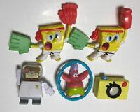 Sponge Bob Squarepants Toy Lot Burger King 2009-2012