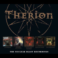 Therion : The Nuclear Blast Recordings CD Box Set 5 discs (2018) ***NEW***