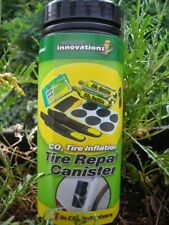 Genuine Innovations Tire Inflation Puncture Repair, FITS IN WATER CAGE!