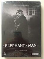 DOUBLE DVD NEUF *** ELEPHANT MAN *** ANTHONY HOPKINS, JOHN HURT