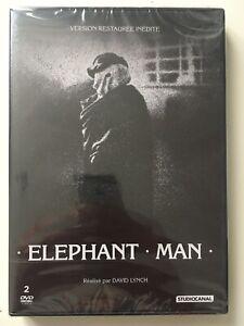 ELEPHANT MAN Version Restaurée Inédite DOUBLE DVD NEUF SOUS BLISTER David Lynch