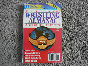 PWI Pro Wrestling Illustrated 1996 Almanac Book Of Facts paperback 1st edition