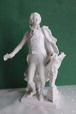 Mozart Figur von Augarten Wien, Höhe 24,5 cm