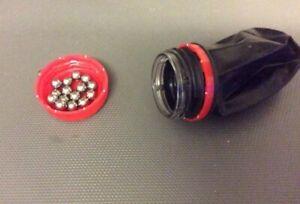 Catapult Pocket Shot Mini Slingshot 100 X 6mm BB Ammo
