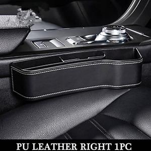 1PCS Car SUV Seat Gap Catcher Filler Storage Box Pocket Organizer Holder ABS