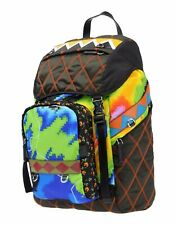 8e82166cef5c New Prada Patchwork Radar Print Leather Trim Backpack- RRP £1290