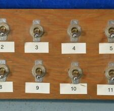 SPST Switch Panel - 12 Switches