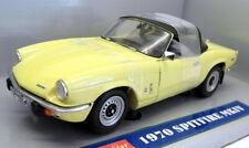 Sunstar 1/18 Scale Diecast - 1051 1970 Triumph Spitfire MKIV Pale Yellow