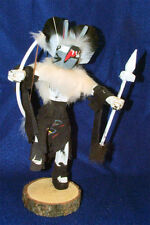 """Lg 12"""" MOUSE WARRIOR Kachina Authentic Native American Navajo FREE SHIPPING #73"""