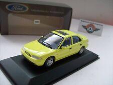 Ford Mondeo MKI para trasera escalonada, 1993, Yellow, ford-dealer (Minichamps) 1:43, embalaje original