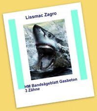 TIP HM Bandsägeblätter Sägeband 3520mm Zagro MBS 502 Gasbeton Yton Porenbeton Li