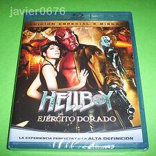 HELLBOY EL EJERCITO DORADO BLU-RAY NUEVO Y PRECINTADO EDICION ESPECIAL