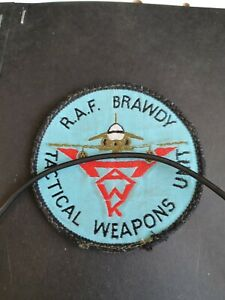 RAF Embroidered Patch RAF Brawdy Tactical Weapons Unit