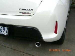 *Toyota Corolla Exhaust Tip 30 - 50mm Twin Pipe Design 5 Year Warranty