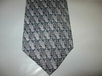 CHRISTIAN PELINI TIE 57 x 4 GRAY SILK Necktie (12873) Free US Ship