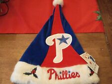 NEW Philadelphia Phillies Christmas Santa Hat NWT