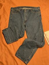 Levi 505 Regular Fit Jeans Size 44 x 32  100 Cotton Nice Blue For You!
