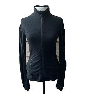 Lululemon Define Jacket Black Long Sleeve Women Casual Exercise Yoga 6