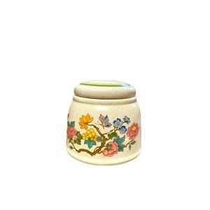 Royal Albert Sugar Pot Lid Summer Solitude Country Garden Vintage Discontinued