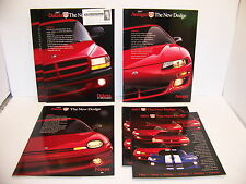 1997 DODGE AVENGER NEON DAKOTA VIPER STRATUS INTREPID SALES BROCHURES (6)