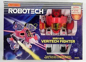 Matchbox Macross Robotech original vintage Miriya's Veritech Fighter rare